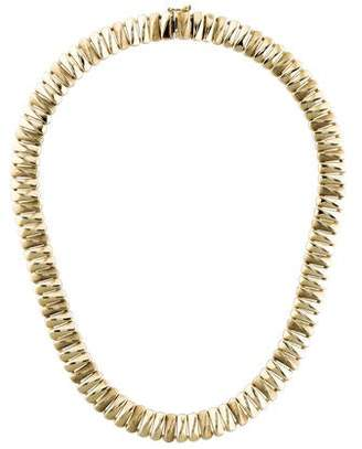 14K Collar Necklace