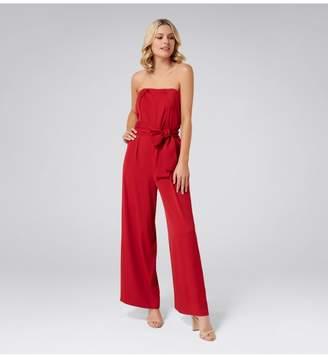 d1d9625491ab Ever New Asher Strapless Tie Waist Jumpsuit