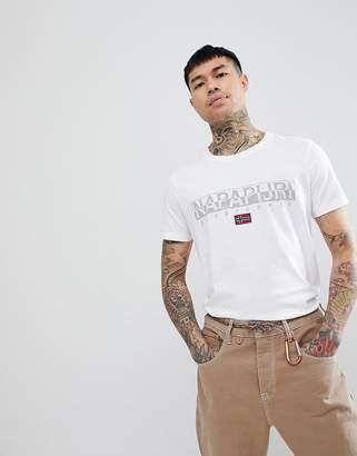 Napapijri Sapriol T-Shirt In White