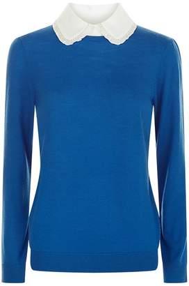 Claudie Pierlot Peter Pan Collared Sweater