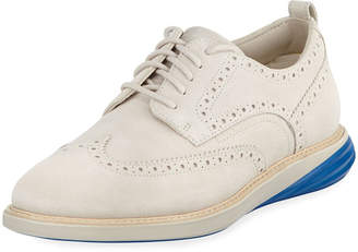 Cole Haan Men's Grand Evolution Suede Sneakers, Medium Beige