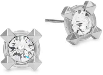 Karl Lagerfeld Paris Essentials Pointed Crystal Stud Earrings