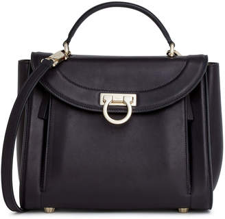 Salvatore Ferragamo Sofia Rainbow small black bag