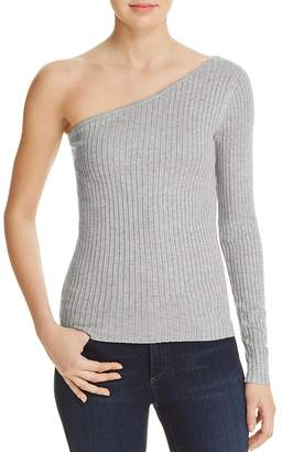 Cotton Candy One Shoulder Sweater