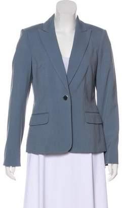 Calvin Klein Peak-Lapel Long Sleeve Blazer w/ Tags