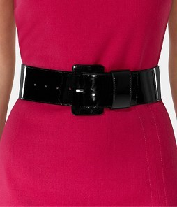 Covered Buckle Harness Belt