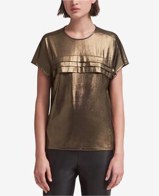 DKNY Tiered Metallic T-Shirt