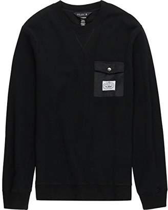 Poler Unisex-Adults Bagit Crew Sweatshirt 2.0-Blk-l