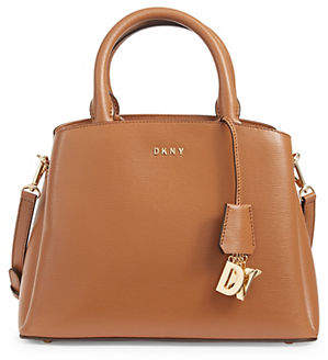 DKNY Paige Leather Satchel