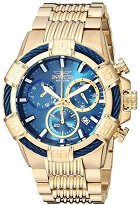 Invicta Men's 'Bolt' Quartz Stainless Steel Casual Watch