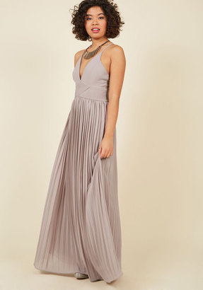 ModCloth Beautifully By Your Side Maxi Dress in Stone in S $100 thestylecure.com