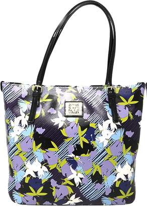 Anne Klein Women's Large Perfect Bag Leather Top-Handle Tote