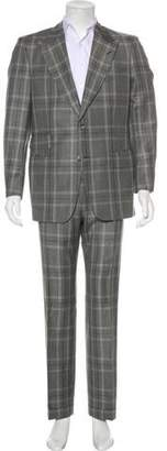 Tom Ford Plaid Wool & Mohair Suit