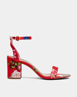 Ted Baker ROZIE Printed block heel sandals