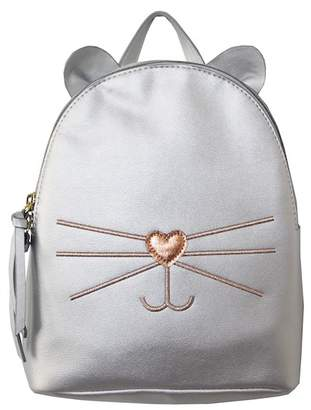 T-Shirt & Jeans Metallic Cat Backpack