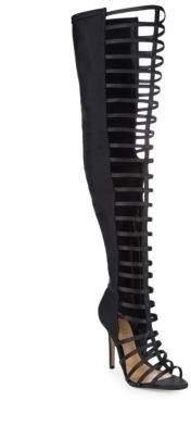Kacia Cut-Out Thigh Stiletto Boots