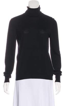 Alaia Wool Turtleneck Sweater