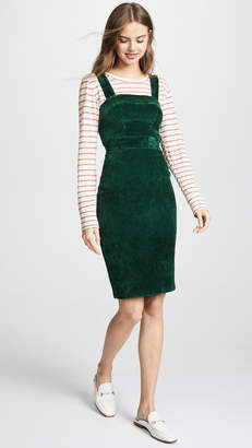 Amanda Uprichard Corduroy Jumper Dress