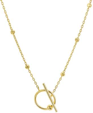 Argentovivo Open Toggle Necklace, 24
