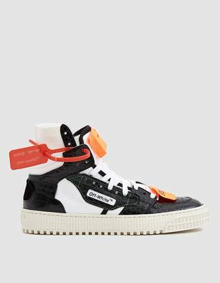Off-White Off White Low 3.0 Sneaker in Black