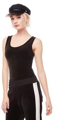 Juicy Couture Stretch Velour Bodysuit