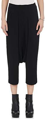 Rick Owens Women's Cady Drop-Rise Crop Pants