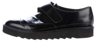 Vince Leather Platform Oxfords