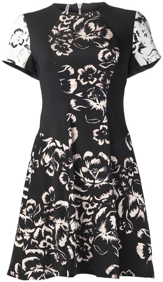 Rebecca Taylor floral print dress