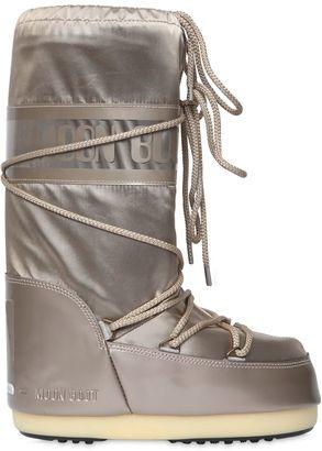 Mb Glance Shiny Nylon Boots $107 thestylecure.com