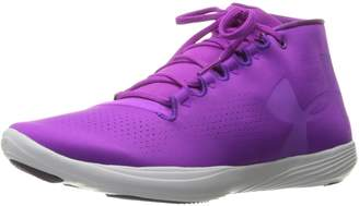Under Armour Women's Street Precision Mid Sneaker, /Black, 10