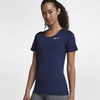 Nike Pro Women's Short Sleeve Training Top (Slim Fit)
