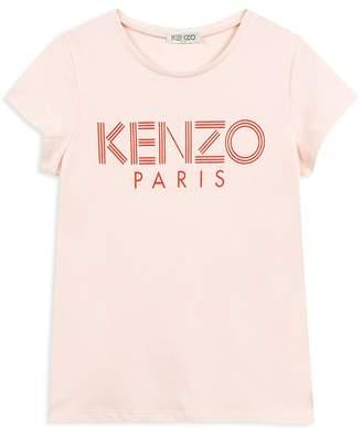 Kenzo Girls' Logo Tee - Big Kid