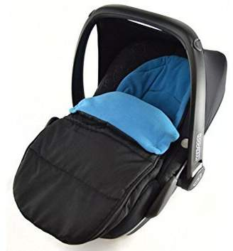 Britax Car Seat Footmuff/Cosy Toes Compatible with Baby Safe Plus New Born Car seat Ocean Blue