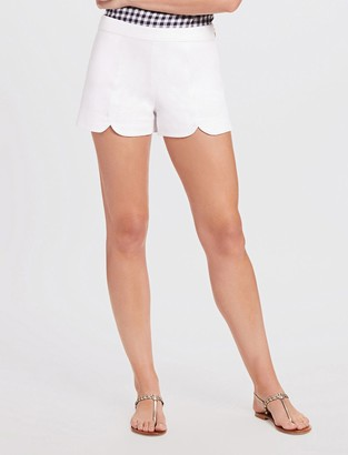 Draper James Scallop Hem Short