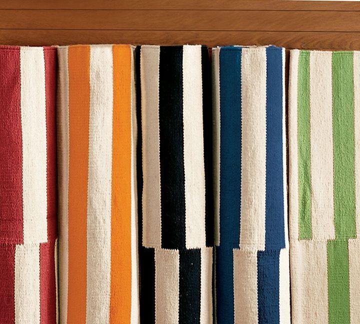 Pieced Awning Stripe Mat