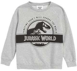 Sometime Soon x Jurassic World Rex Graphic Organic Cotton Sweatshirt