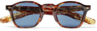 Jacques Marie Mage Zephirin Square-Frame Tortoiseshell Acetate Sunglasses
