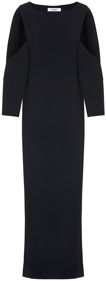 ChalayanCut Out Sleeves Dress