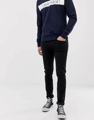 Calvin Klein slim fit jeans in black