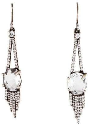 Alexis Bittar Rock Crystal & Sapphire Marquise Sky Drop Earrings silver Rock Crystal & Sapphire Marquise Sky Drop Earrings