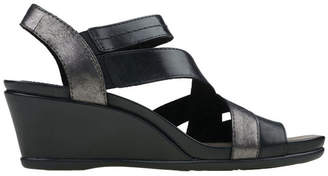 Earth Thistle Black Sandal