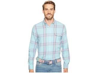 Vineyard Vines Rhoda Pond Plaid Slim Crosby Men's T Shirt