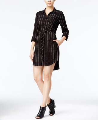 kensie Striped Shirtdress $89 thestylecure.com