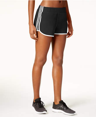adidas M10 ClimaLite® Woven Running Shorts $28 thestylecure.com