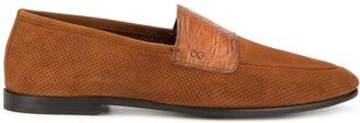 Dolce & Gabbana almond toe slippers