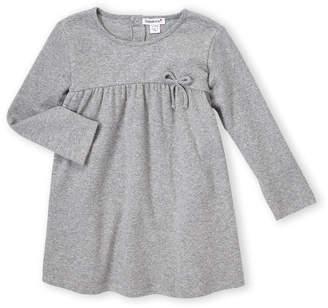 Babaluno (Newborn Girls) Bow Long Sleeve Dress