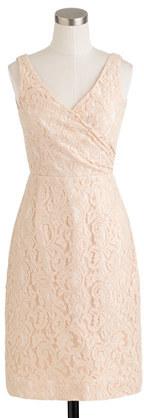 J.Crew Sara dress in Leavers lace