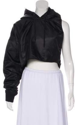 Y/Project Hooded One-Shoulder Jacket