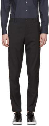Stephan Schneider Black Checkered Edge Trousers