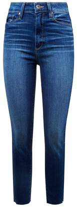 Paige Margot High Rise Skinny Crop Jeans